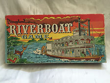 NICE VINTAGE 1960 DISNEYLAND RIVERBOAT GAME COMPLETE IN BOX BY PARKER BROTHERS