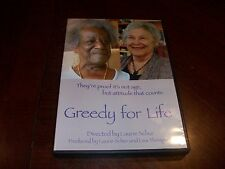 Greedy For Life Directed by Laurie Schur (DVD 2008) Activ Lives Of Women Over 80