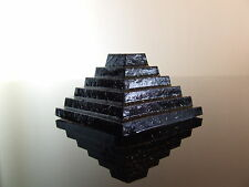 Orgone Step Pyramid of Djoser HHG Quartz Crystal Shungite Pyrite with Shilajit