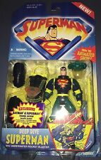 Superman Animated Series Deep Dive Action Figure in Package