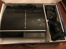 SONY PlayStation 3 Black Video Game Console + 2 Controllers!