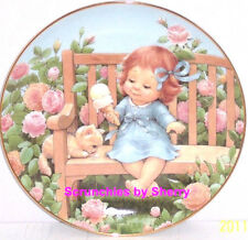 Sweet Treat Ice Cream Blessed Are Ye Collector Plate Danbury Mint Retired