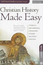 Christian History Made Easy Leader Guide for the 12-session DVD-based study