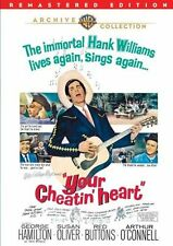 YOUR CHEATIN HEART (1964 George Hamilton)  Region Free DVD - Sealed