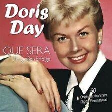 """DORIS DAY """"QUE SERA-DIE GROßEN ERFOLGE"""" 2 CD NEU"""