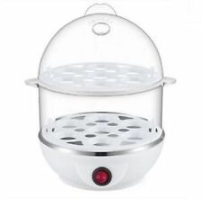Multi-Function Double Layer Electric Egg Boiler Cooker Food Steamer