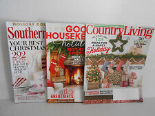 Christmas 2015 Magazine Lot Southern Living, Good Housekeeping & Country Living