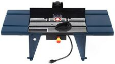 Electric Aluminum Router Table Wood Working Craftsman Tool Benchtop