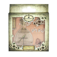 SANTORO'S Mirabelle Clear Stamp- Lost Song great for cards and crafts