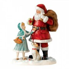 Royal Doulton 2015 A Gift for Santa HN 5733 Christmas Figurine New Hand Signed