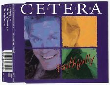 PETER CETERA Faithfully CD-single 3trks 1995 RARE aussie oz MCD80000 chicago