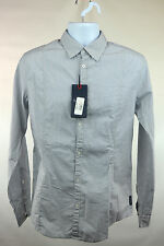 Armani Jeans Grey Fitted Shirt Size L RRP105  RETMAY1601