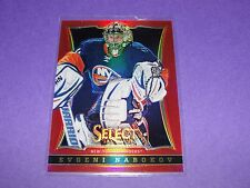 2013-14 Select EVGENI NABOKOV Red Prizms SP/35 New York ISLANDERS Goalie RUSSIA