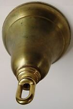 """RawBrass 5 1/4"""" Ceiling Canopy Kit Victorian with Screw Collar Loop other parts"""