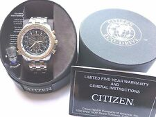 CITIZEN ECO-DRIVE /Analog Solar Powered Men's watch CTZ-A8038 pre-owned  C46