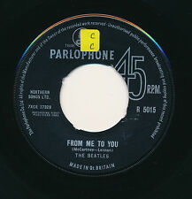 """THE BEATLES 45 TOURS 7"""" UK FROM ME TO YOU"""
