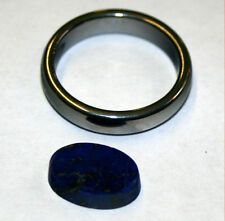 Natural Lapis Lazuli loose gemstone 9x12mm gem oval cabochon 3ct LA52