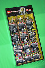 LEGO Minifig Series 14 MONSTERS NEW JUMBO DISPLAY/RACK CASE - 120 PACK SHIPPED