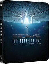 Independence Day - 20th Anniversary Remastered Steelbook (Blu-ray) BRAND NEW!!