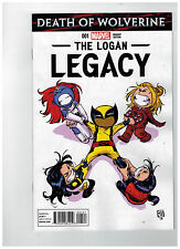 DEATH OF WOLVERINE: THE LOGAN LEGACY #1 Skottie Young Baby Variant / 2014 Marvel