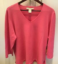 Lovely New Lucia Burn Pink Ladies Jumper Size 3XL 24/26