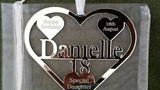 18TH BIRTHDAY GIFT PERSONALISED WITH NAME ,BIRTH DATE, KEEPSAKE HAND MADE