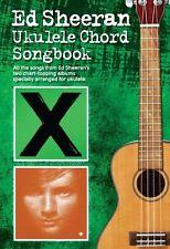 Ed Sheeran Ukulele Chord Songbook Play POP Hits A TEAM I See Fire UKE Music Book