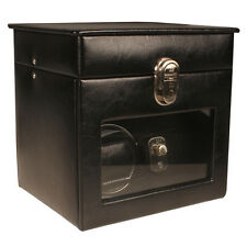 AB Collezioni Lotus Watch Winder for 1 Automatic Watch - Black **Brand New**