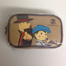 LEVEL-5 Professor Layton Mobile Pouch Brown import Japan