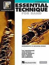 Hal Leonard Essential Technique 2000 for B Flat Clarinet (Book 3 with CD), , Exc