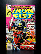 COMICS: Marvel: Iron Fist #5 (1976), 1st Scimitar app - (daredevil/luke cage)