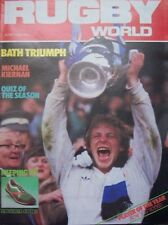 RUGBY WORLD MAGAZINE JUNE 1985 - PERFECT GIFT FOR A FAN BORN IN THIS MONTH