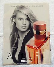 A409-Advertising Pubblicità-2000-ALLUR - CHANEL PROFUMI
