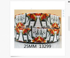 Musical notes ribbon for cake decorating or scrap booking flowers 1m