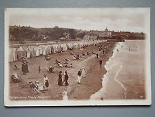 R&L Postcard: Bathing Tent Changing Huts Paignton, J Welch