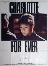 CHARLOTTE FOR EVER - GAINSBOURG - ORIGINAL LARGE FRENCH MOVIE POSTER