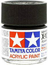TAMIYA COLOR ACRYLIC X-10 Gun Metal MODEL KIT PAINT 10ml NEW