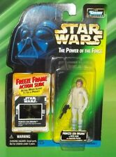 STAR WARS POTF SERIES FF FREEZE FRAME HOTH GEAR LEIA  FIGURE
