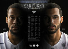 2016-17 KY University of Kentucky Wildcats Basketball Schedule / Poster BRISCOE