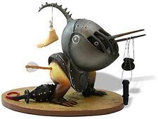 HIERONYMUS BOSCH Helmeted Bird Gothic Fantasy Medieval Sculpture Statue Figurine