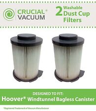 2 Hoover Windtunnel Bagless Canister Washable Vacuum Filters # 59134033