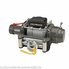 18000 lb Industrial / Tow Truck Electric Winch with Automatic Load-Holding Brake