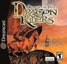 Dragonriders Chronicles of Pern Sega Dreamcast complete in case w/ manual