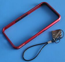Luxury Aluminum Metal Bumper imatch Case for iPhone 5s red