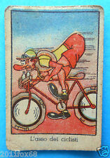 figurines cards figurine umoristiche anni 30 40 v.a.v. vav ciclismo cycling bike