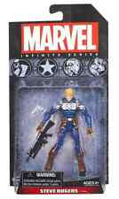 MARVEL LEGENDS AVENGERS INFINITE SERIES FIGURE STEVE ROGERS 3.75""