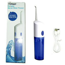 Todo USB Rechargeable Dental Water Flosser Oral Irrigator Jet Teeth Cleaning
