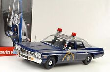 1975 Dodge Monaco Nevada highway patrol police 1:18 ERTL voiture world