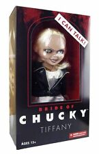 "MEZCO BRIDE OF CHUCKY TALKING TIFFANY 15"" MEGA SCALE DOLL FIGURE w/ SOUND"