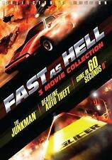 Fast as Hell: The Junkman/Deadline Auto Theft/Gone in 60 Seconds (DVD, 2014)